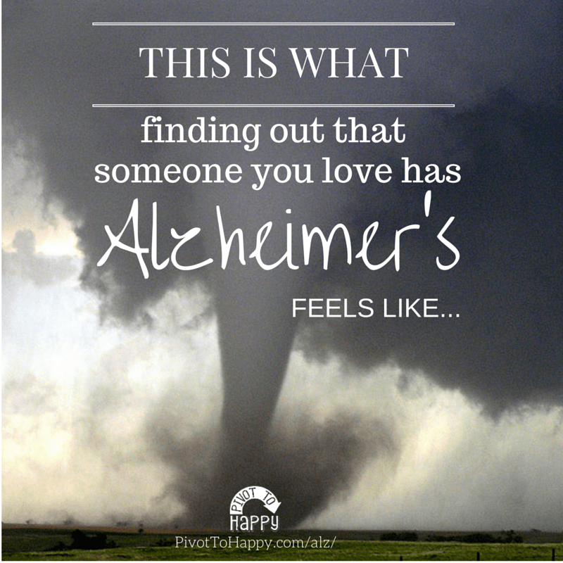 This is what an Alzheimers diagnosis feels like