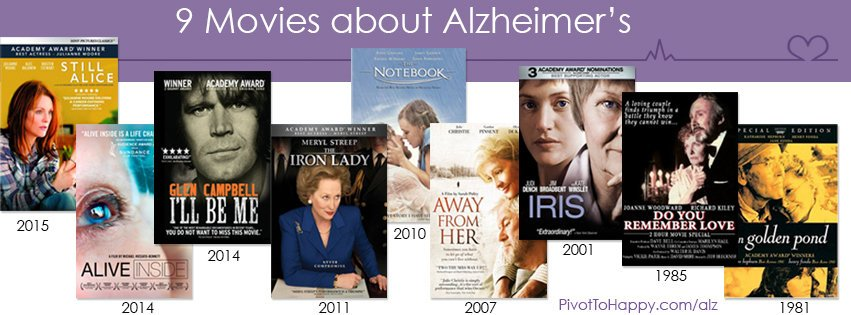 9 Movies about Alzheimers - PivotToHappy
