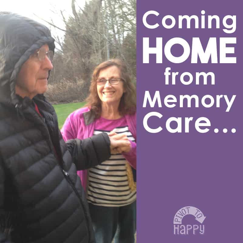 Bringing someone HOME from Memory Care in the end stages of Alzheimer's…