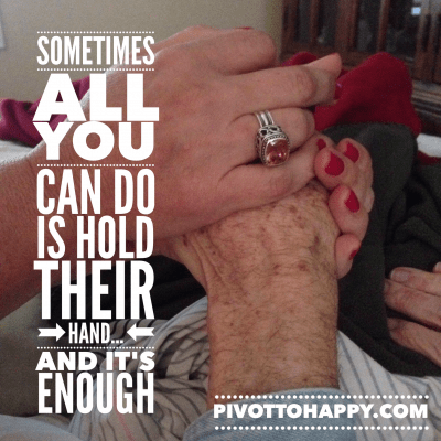 6 months after our Alzheimer's Journey ended…